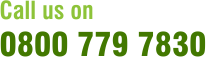 Call us on 0800 779 7830